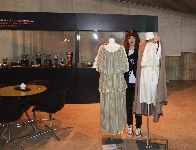 [SLO] MM | NTF – Vendi uz Kostime prezentirane na izložbi 'Drugačni emonski portreti'. Foto: BB.